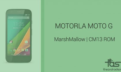 Download Moto G Marshmallow Update: CM13 and other ROMs