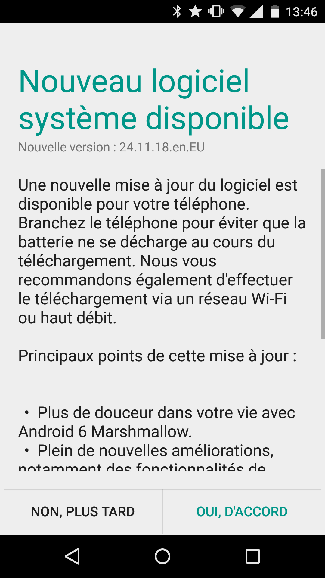 moto x2 europe Marshmallow ota