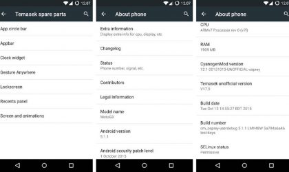 Download Moto G 2015 Marshmallow Update: CM13 and other ROMs