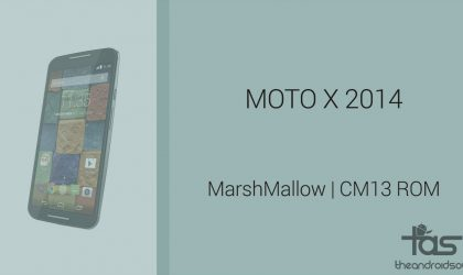 Download Moto X 2014 Marshmallow Update: CM13 and other ROMs