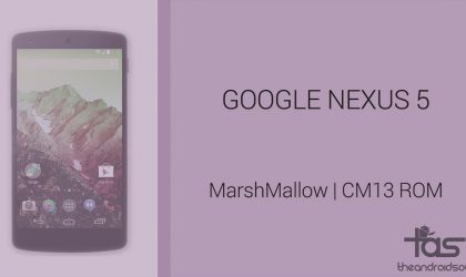 Download Nexus 5 Marshmallow Update: CM13 and other ROMs