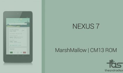 Download Nexus 7 Marshmallow Update: CM13 and other ROMs