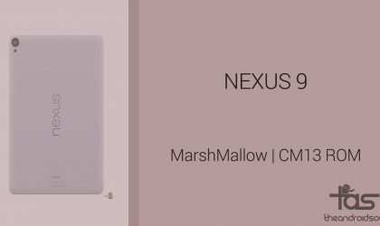 Download Nexus 9 Marshmallow Update: CM13 and other ROMs
