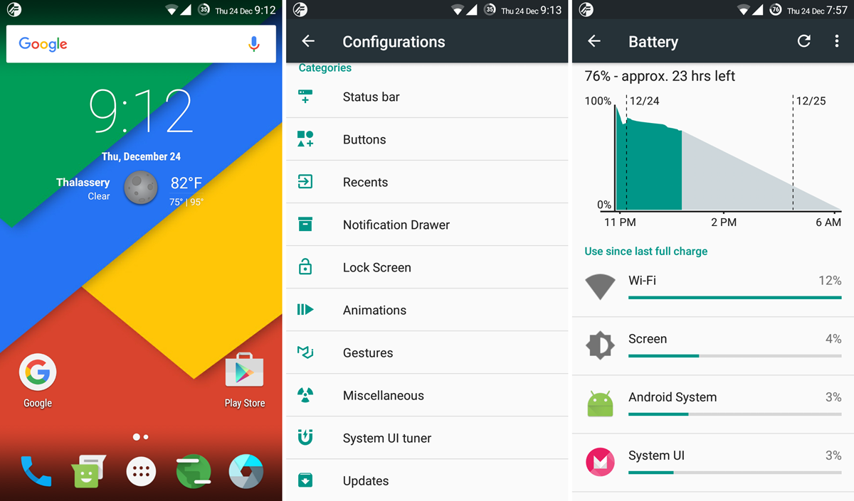Download sony xperia l marshmallow update: cm13 and other roms.