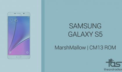 Download Galaxy S5 Marshmallow Update: CM13 and other ROMs