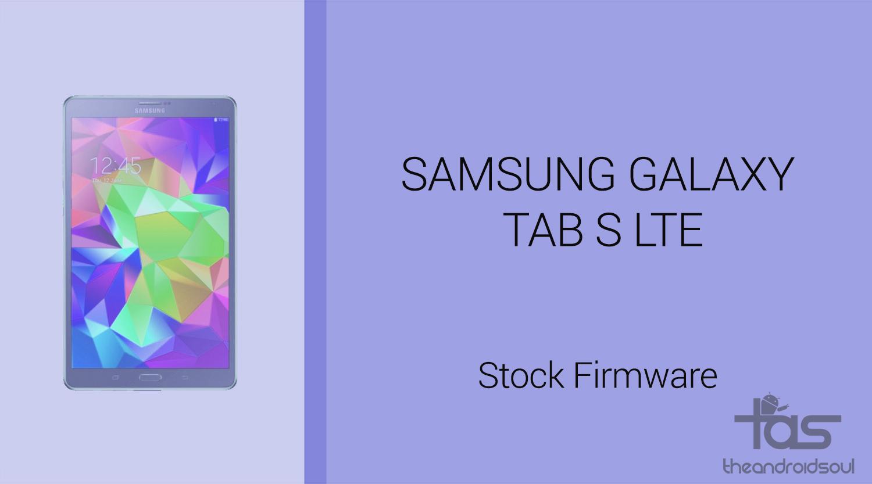 Download Galaxy Tab S Update Firmware T807JVU1CPI1: Verizon