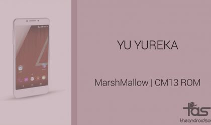 Download YU Yureka Marshmallow Update: CM13 and other ROMS