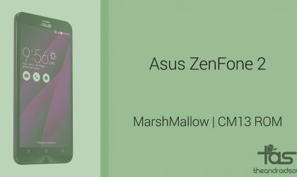 Download Asus ZenFone 2 Marshmallow Update: CM13 and other ROMS