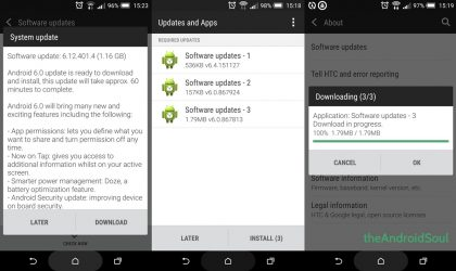 Download One M8 Marshmallow OTA Update 6.12.401.4 ZIP