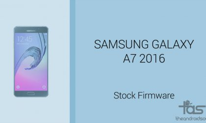 Download Galaxy A7 2016 Firmware