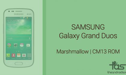 Galaxy Grand Duos Marshmallow Update: CM13 and other ROMs