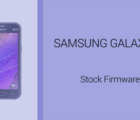 Galaxy J1 Firmware download [stock ROM, all variants]