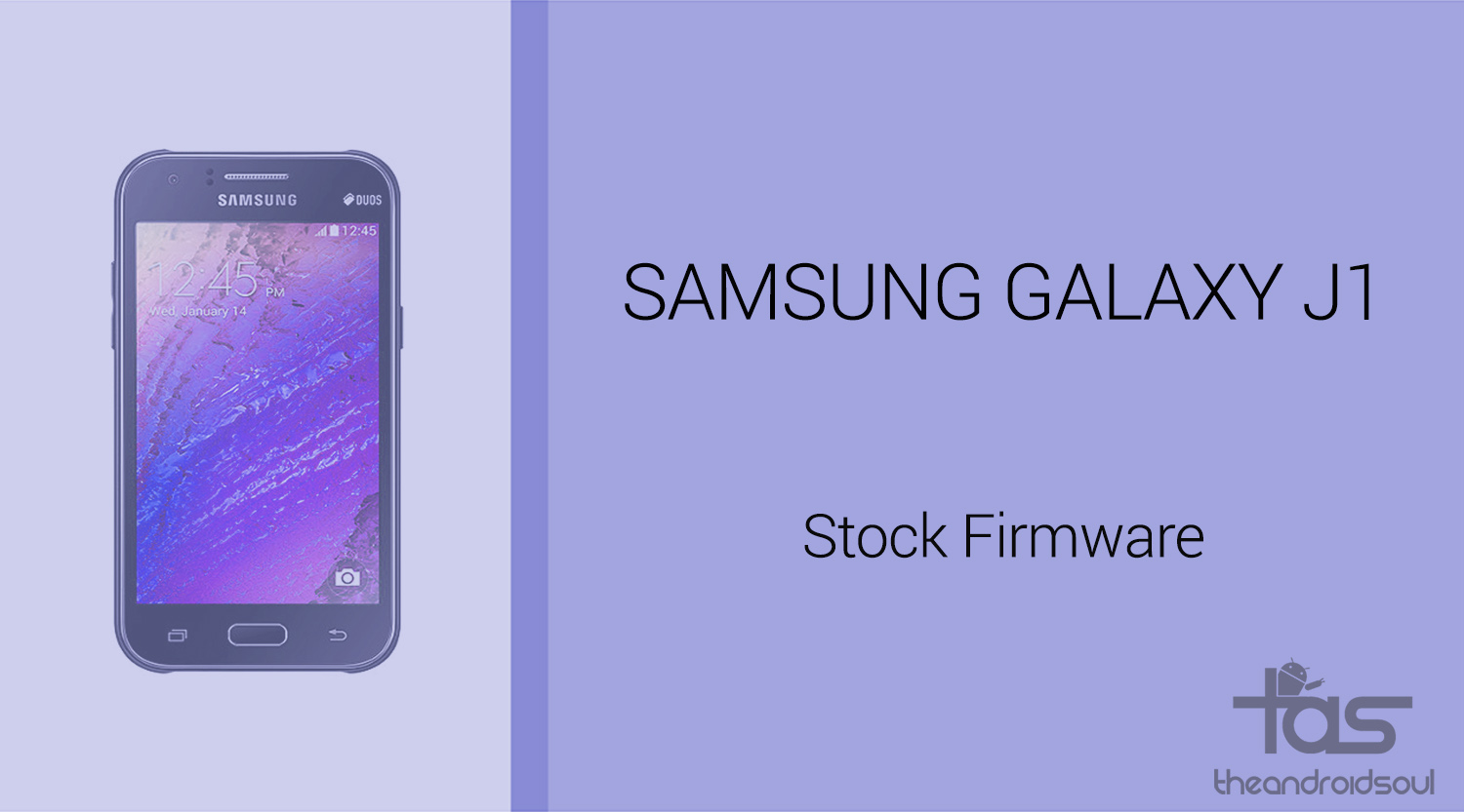 Samsung j1 software