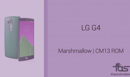 Download LG G4 Marshmallow Update: CM13 and other ROMs