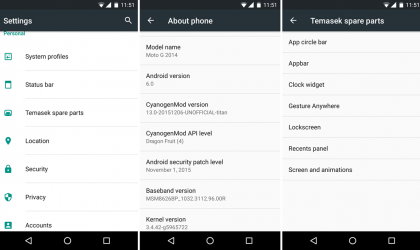 Download Moto G 2014 Marshmallow Update: CM13 and other ROMs