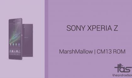 Download Sony Xperia Z Marshmallow Update: CM13 and other ROMS