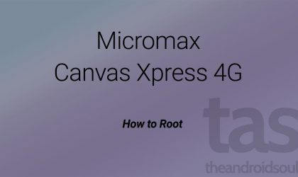 Micromax Canvas Xpress 4G Root and CWM recovery [TWRP alternative]