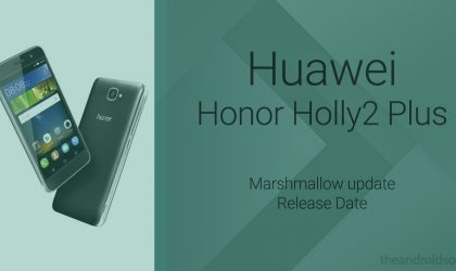 Honor Holly2 Plus Marshmallow update to release in February end