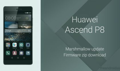 Download Huawei P8 Marshmallow Update now!