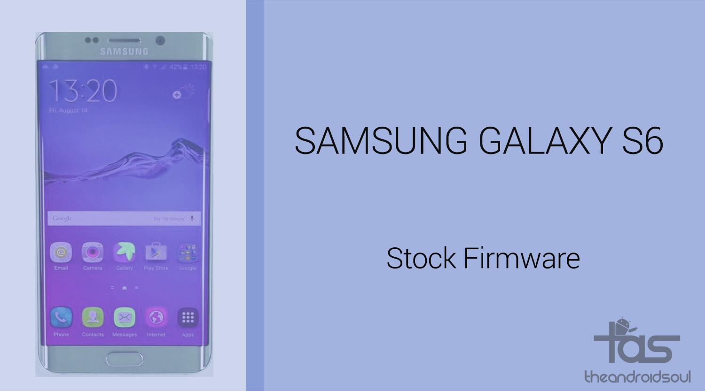 Download Galaxy S6 Firmware (G920VVRU4CPK2, G920PVPS4CPJ1