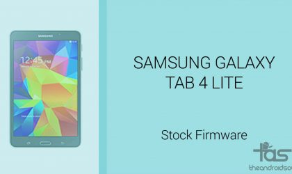 Download Galaxy Tab 4 Lite Firmware [Stock ROM, Unbrick, Update, Downgrade, Fix, Back To Stock, Restore]