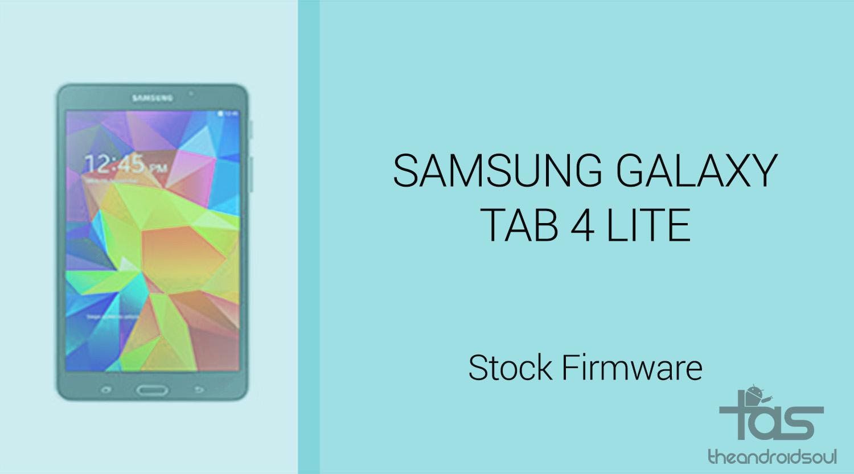Download galaxy tab 4 lite firmware stock rom unbrick update downgrade fix back to stock - Samsung galaxy tab 4 lite ...