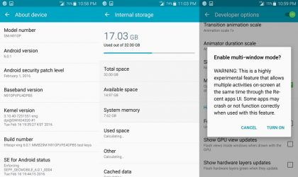 Download Sprint Galaxy Note 4 Marshmallow leak and Root