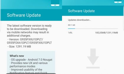Download Galaxy S7 and S7 Edge Nougat firmware [Odin TAR]