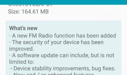T-Mobile Galaxy S7 Edge receives new update in build G935TUVU2APD7