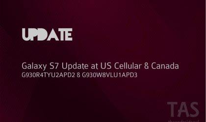 US Cellular Galaxy S7 and its Canadian variant receive update with May security patches inside