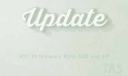 Download HTC 10 firmware: RUU and OTA [2.48.617.1 added]