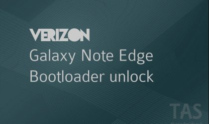 Verizon Galaxy Note Edge full root possible now as bootloader unlock achieved!