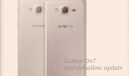 Galaxy On7 Marshmallow update released in Turkey, build G600FXXU1APF8