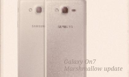 Galaxy On7 Marshmallow update released in Turkey, build G600FXXU1APF8
