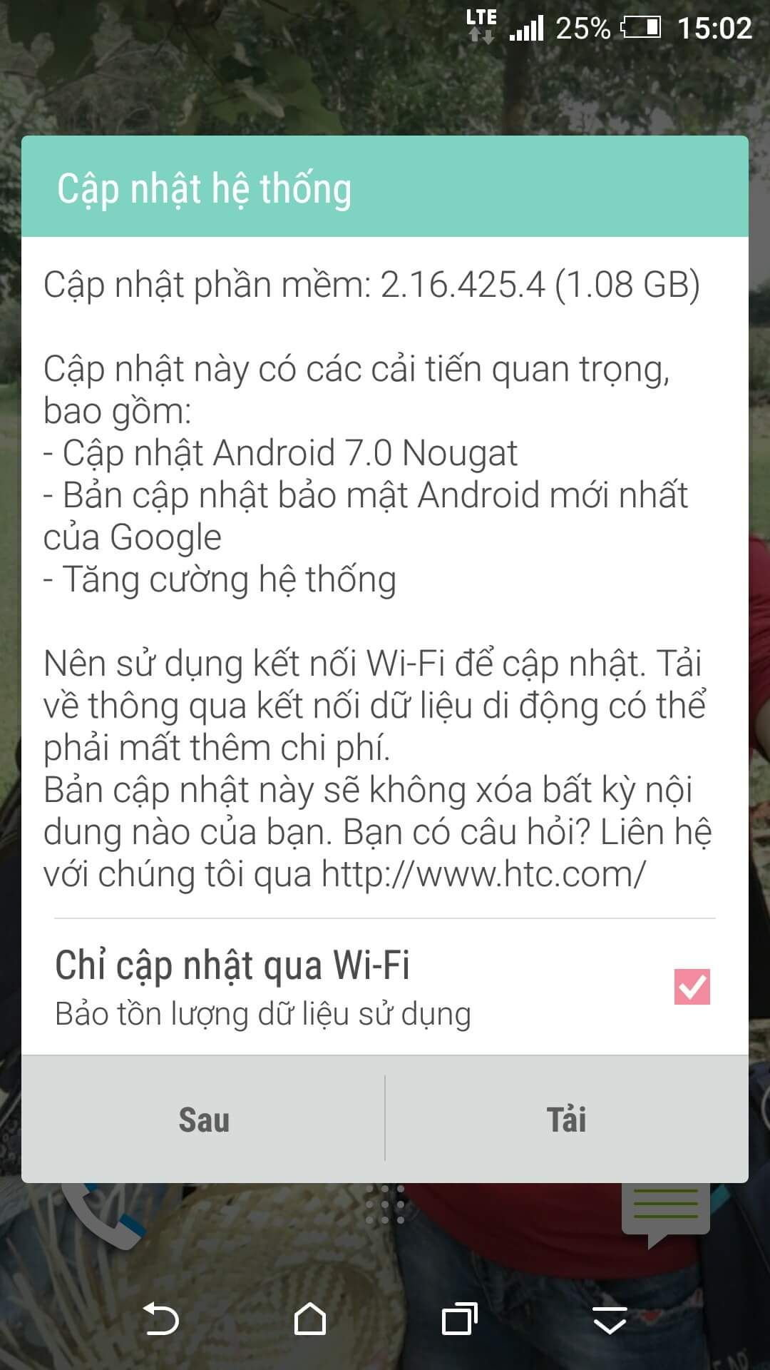 HTCOneA9_Nougat_Vietnam
