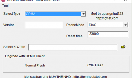 How to Install/Flash a KDZ Firmware on LG Devices
