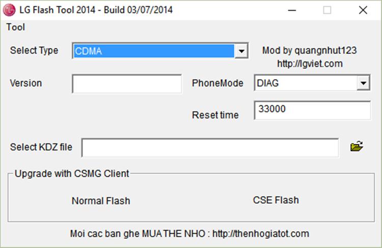 zte l2 plus instalar firmware flash tool