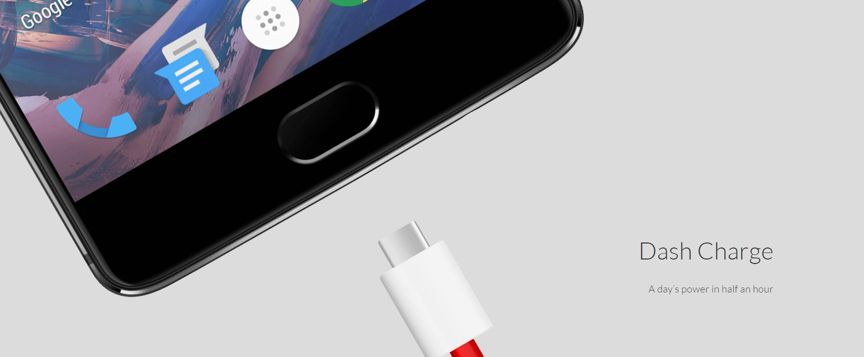OnePlus 3 type c charger