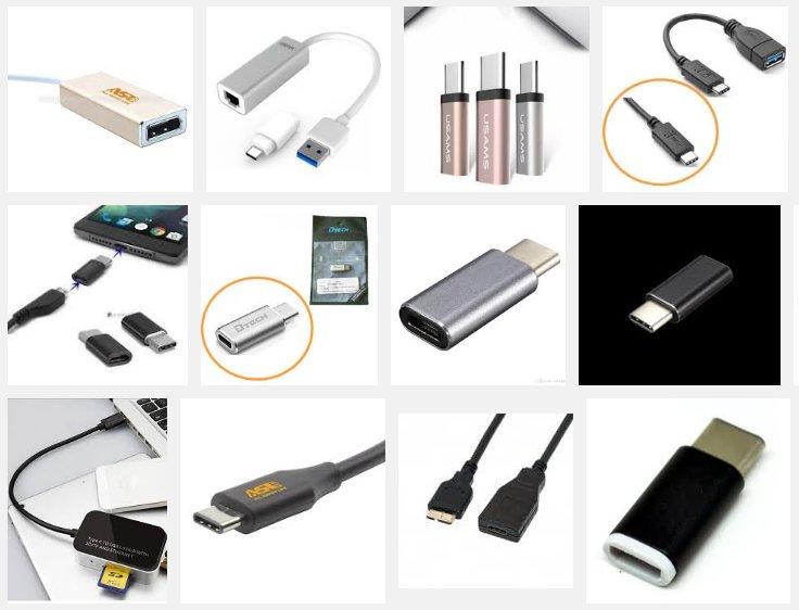 OnePlus 3 type c converter