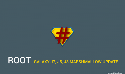 How to Root Galaxy J7, J5 and J3 Marshmallow update