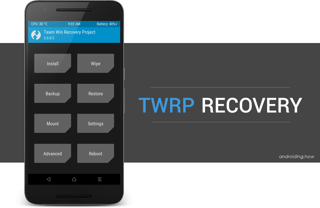 How to Uninstall/Remove TWRP Recovery and Restore Stock Recovery