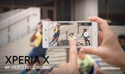 How to Enable 4K Recording on Xperia X