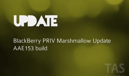 T-Mobile releases Blackberry PRIV Marshmallow update (build AAF153)