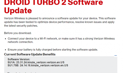 New Verizon Droid Turbo 2 update brings WiFi calling (Advanced calling)