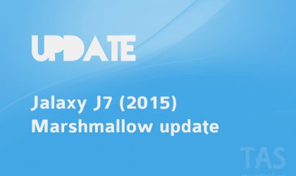 Galaxy J7 Android 6.0 Marshmallow update has been released in Russia (model J700H)