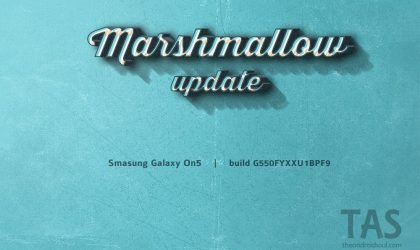 Galaxy On5 scores Marshmallow update too!
