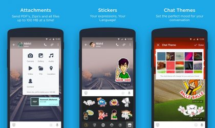 Hike Messenger update brings stickers backup and fixes bugs