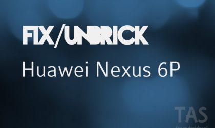 Hwo to Fix Nexus 6P stuck at Android N beta OTA update bootloop