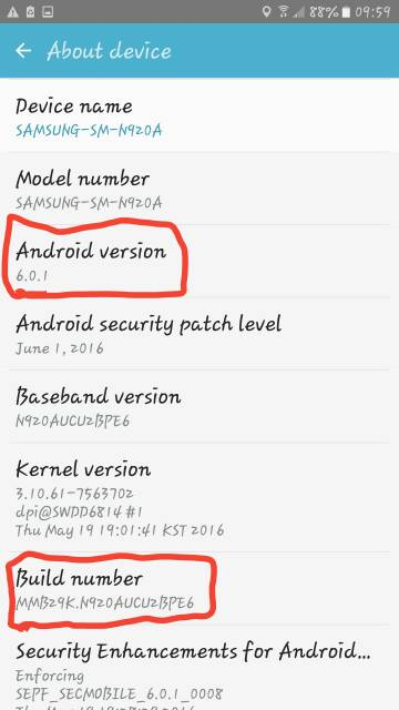 note 5 Marshmallow