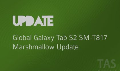 Galaxy Tab S2 LTE in Turkey receives Marshmallow update too